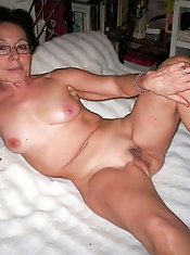 Outstanding mature dame is getting naked